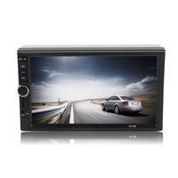 Cimiva Car Vehicle 7 Inch 7018B Screen TF Card Doule Din Bluetooth DVD Player Auto Multimedia