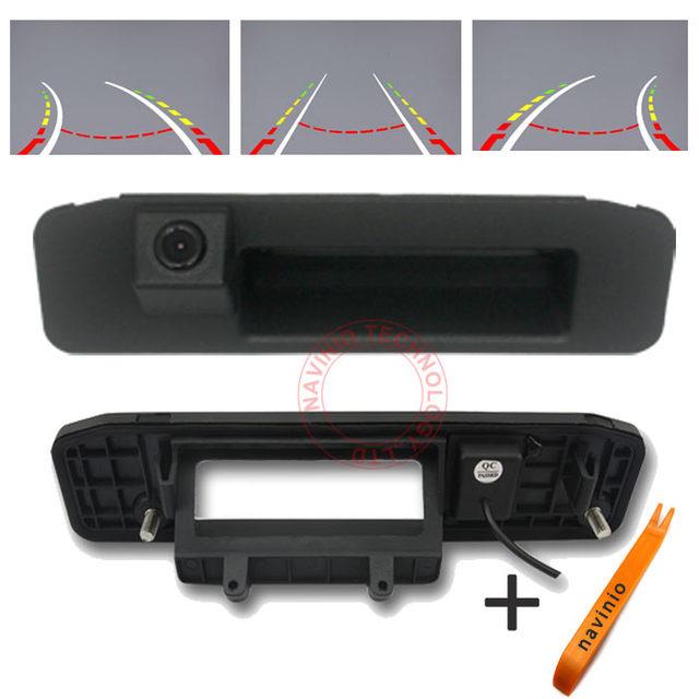 Trilha do carro do CCD da câmera invertendo trajetória para Mercedes Benz GLK Classe X 204 ML classe de estacionamento de visão noturna à prova d' água