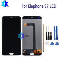 For Elephone S7 LCD Display Touch Screen Panel Digital Replacement Parts Assembly Original 5 5 Inch