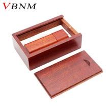 VBNM Wooden bamboo USB flash drive pendrive 4GB 8GB 16GB 32GB memory card