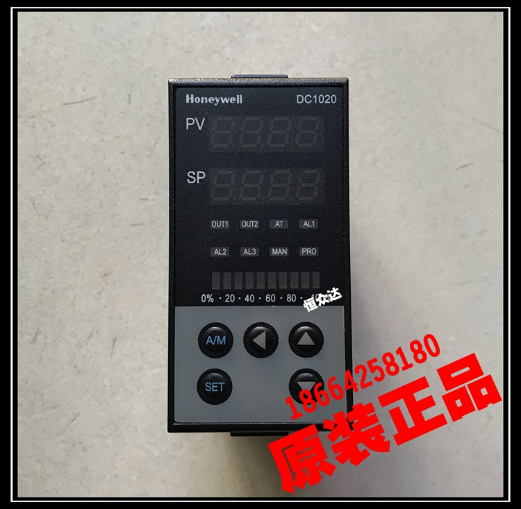 Original authentic Honeywell DC1020CT/CR/CL-201000-E temperature controller original honeywell temperature controller dc1040ct 301000 e