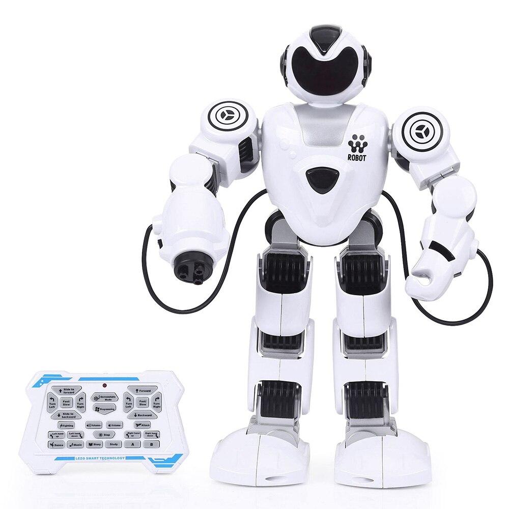 LEZHOU jouets électronique à distance Robot chantant danse apprentissage précoce Puzzle intelligent jouet lumineux Robot Parent-enfant Robot jouet intelligent