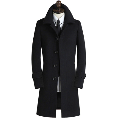 Winter Wool Coat Men's...