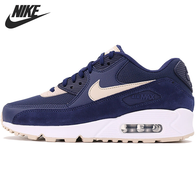 Original New Arrival 2017 NIKE WMNS AIR MAX 90 Women's Running Shoes Sneakers nike sportswear кроссовки nike sportswear wmns air max 90 prem