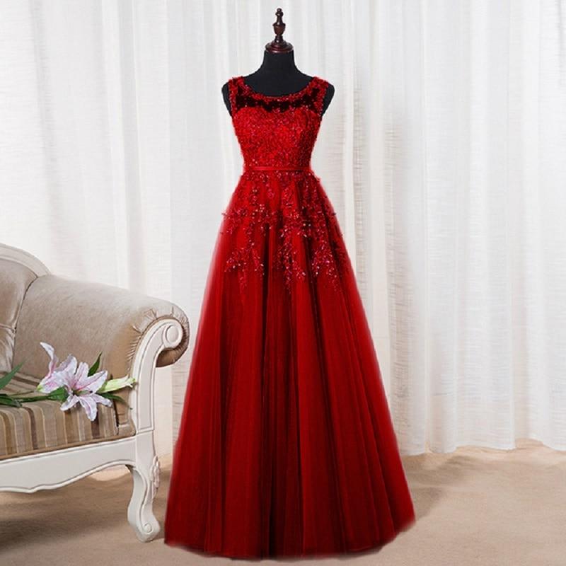 SOCCI vikend ružičasti appliques čipka til duga večernja haljina - Haljina za posebne prigode - Foto 2