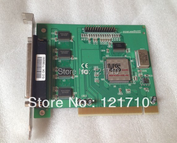 Industrial equipment boards VScom 410H SP COM PCI serial card 4 RS232 Ports industrial equipments board moxa pci serial cards rs232 c104h pci