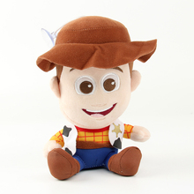 2pcs/lot 20cm Toy Story Woody & Buzz Lightyear Plush Toy Doll Soft Stuffed Toys for Children Kids Birthday Christmas Gifts