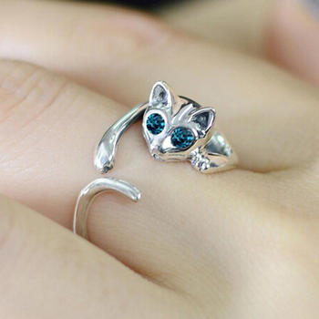 Women's Cat Shaped Ring