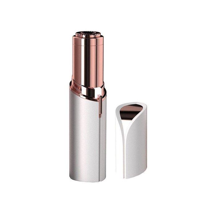 Elektrische Body Gezicht Brow Ontharing Epilator Lipstick Shape Mini Wenkbrauw Scheerapparaat Instant Pijnloos Bikini Nek Been Remover Tool