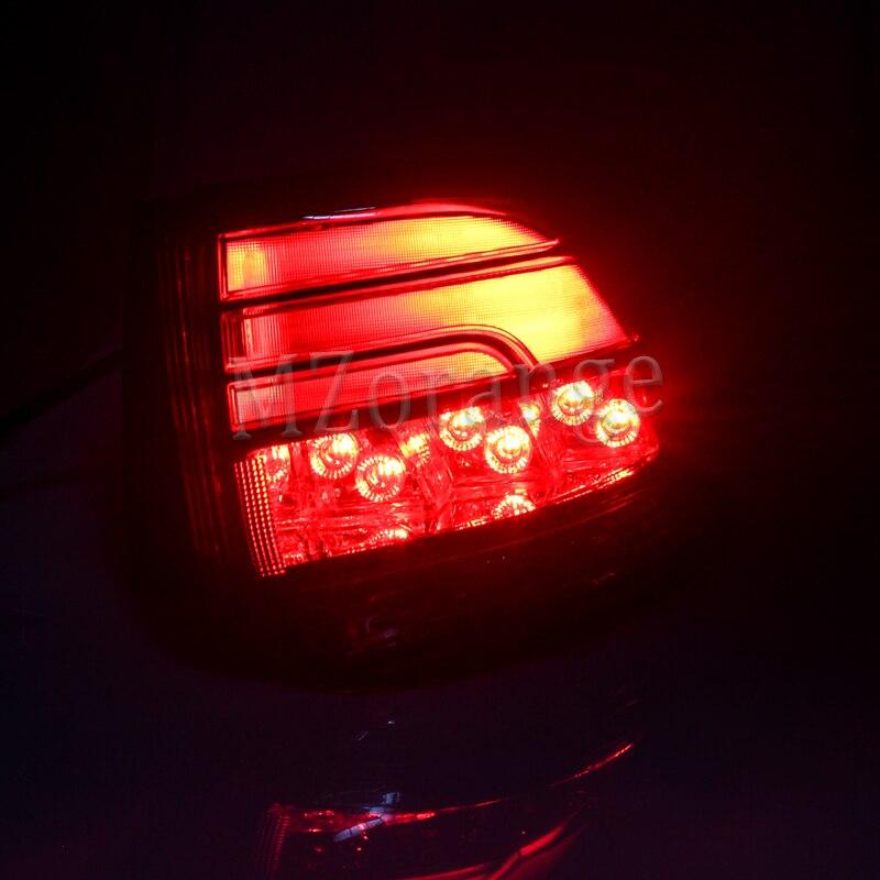 MZORANGE pour Mitsubishi 2016 2017 OUTLANDER lumière arrière feu arrière assemblage feu arrière outlander feu arrière feu arrière Stop frein - 6