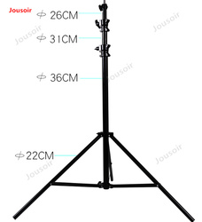 Photography 3-meter air cushion pneumatic lamp frame buffer Spring Bracket Studio Accessories Studio Lamp Tripod CD50 T03