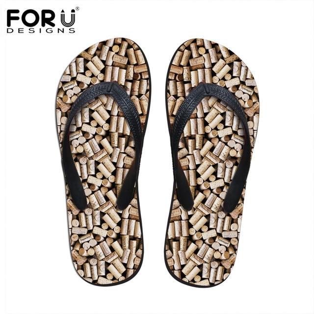 d7c90f18da258d FORUDESIGNS 2018 New Design Summer Men s Flip Flops Casual Flat Beach  Slippers Man Non-slip Flipflops for Teenage Boy Men Male