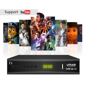 Image 5 - 최신 DVB T2 디지털 지상파 tv 수신기 지원 h.265 youtube dobly DVB T3 tv box usb 2.0 scart tv 튜너 (usb wifi 포함)