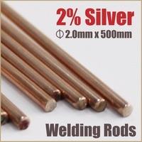 Silver Solder Welding Wire Mig Copper Brazing Rods Bar Sheet Metal Weld Soldering Stick Tips Braze