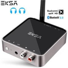 EKSA Bluetooth 600 аудио передатчик приемник 5,0 мАч последние CSR8675 Bluetooth адаптер оптический мм/3,5 мм AUX/SPDIF для ТВ наушники