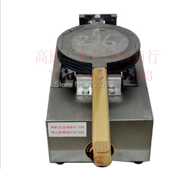 Gas type Hong Kong Waffle Maker Egg Waffle Machine Eggette maker directly factory price commercial electric double head egg waffle maker for round waffle and rectangle waffle