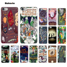 Babaite Harry Potter Comics Customer Transparent Cell Phone Case for Apple iPhone 8 7 6 6S Plus X XS MAX 5 5S SE XR Mobile Cases(China)