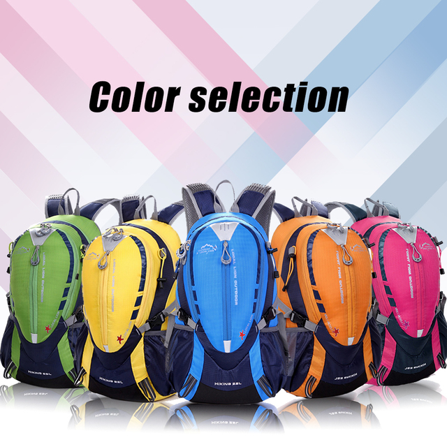 LOCAL LION 25L High Quality Waterproof Nylon Hiking Backpack Outdoor Sports Bag Rucksack Men's Travel Bags Back Pack HT441