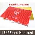 2 em 1 Cama de Placa PCB RepRap mendel PCB Aquecida MK2B para Impressoras 3D Mendel Cama Quente 150*230mm 12 V Heatbed