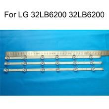 Brand New LED Backlight Strip For LG 32LB620V 32LB6200 TV Repair Strips Bars A B TYPE 6 Lamps Original Quality