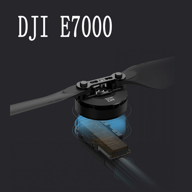DJI E7000 Plant Protection Unmanned Aerial Vehicle Power Set 12100 Motor R3390 Folded Propeller