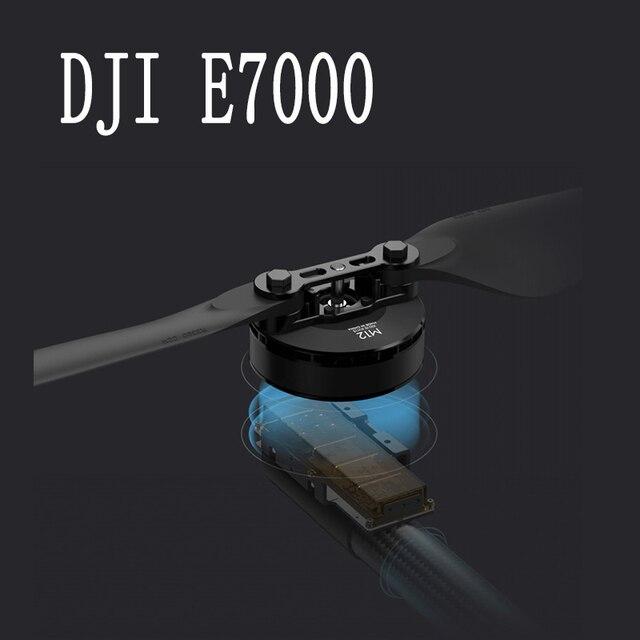 DJI E7000 Protection des plantes véhicule aérien sans pilote ensemble dalimentation 12100 moteur R3390 hélice pliée