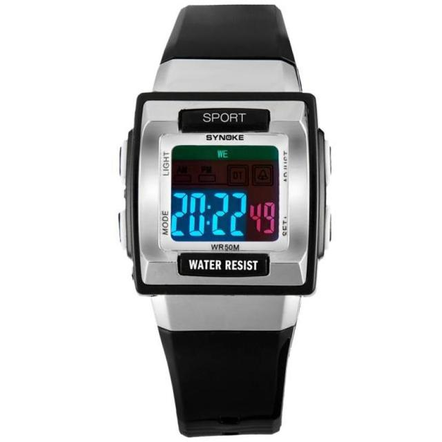 Dignity SYNOKE Watches Kid Children Boy Girl Motion Digital Watches Wristwatches