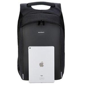 Image 4 - Business mannen Rugzak USB Opladen Anti Diefstal 15.6 Inch Laptop Rugzak Mannelijke Grote Capaciteit College Schooltassen Reizen bagpack