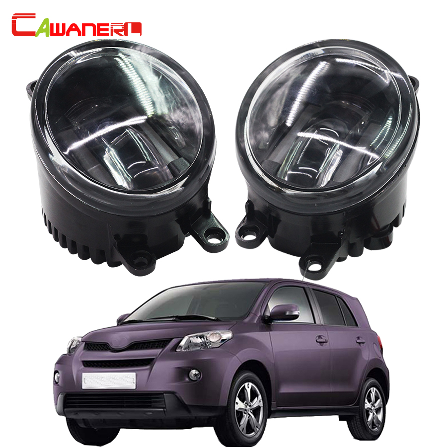 Cawanerl Car Styling LED Fog Light Daytime Running Lamp DRL For Toyota Urban Cruiser Hatchback NSP1 NLP1 ZSP1 NCP11 2009-2014 cawanerl 1 pair car light led fog lamp drl daytime running light white 12v for subaru trezia hatchback 1 3 1 4d 2011 onwards