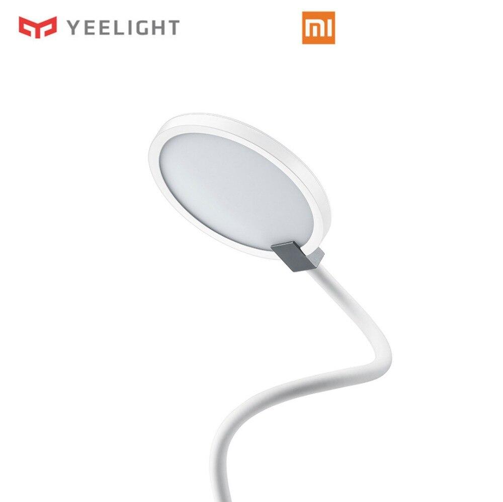 imágenes para 2017 nueva original xiaomi yeelight mijia coowoo led lámpara de escritorio inteligente lámparas de mesa desklight no apoyar mi casa app domótica kit