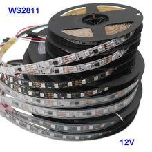 Светодиодная лента ws2811 5050 smd rgb 12 В постоянного тока