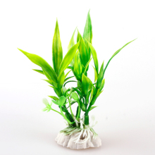 Safety Aquarium Decor Plastic Plant