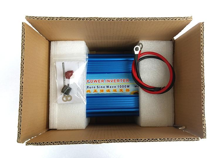 24V dc to 220V ac inverter 50hz/60hz 1kw power inverter 220v 24v 1000w inverter стоимость