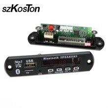 Hot Sale Car Bluetooth MP3 Decoding Board Module FM Radio USB TF AUX Remote Control for Vehicle 12V Wireless Audio Decoder