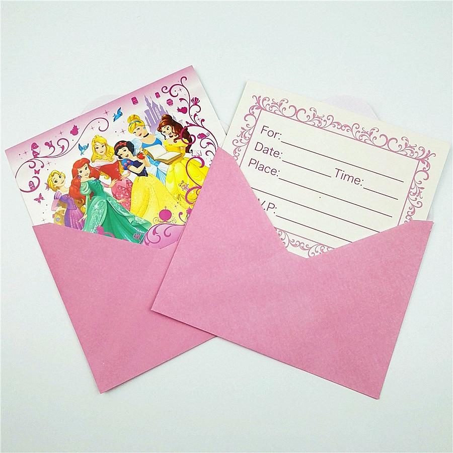 6p Set Ariel Snow White Belle Cinderella Jasmine Aurora