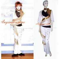 Japan Gazette Kai Gazette Jacket Coat Visual J rock Cosplay Costume Tailor made[G340]