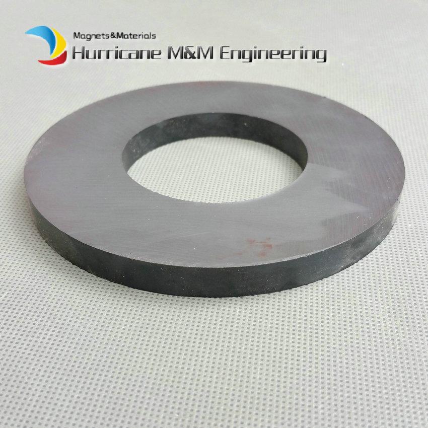 2 pcs Levatation Ferrite Magnet Ring OD 120x60x10 mm 4 large C8 Ceramic Magnets for DIY Loud speaker Sound Box board Subwoofer 12 x 1 5mm ferrite magnet discs black 20 pcs