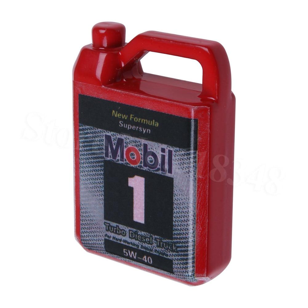 Metal Simulation Mini Fuel Tank Decoration Accessories for 1/10 RC Crawler Car Traxxas TRX4 CC01 Axial SCX10 90046 90047 D90