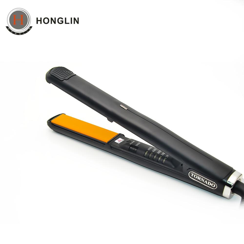Professional Electronic Hair Straighteners Tools Straightening Corrugated Iron 110-220 V Corrugation Crimping Chapinha Flat Iron