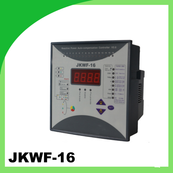 JKWF 16 thyristor power controller 16step split phase with RS485 220v replace current meter voltage meter in capacitor bank
