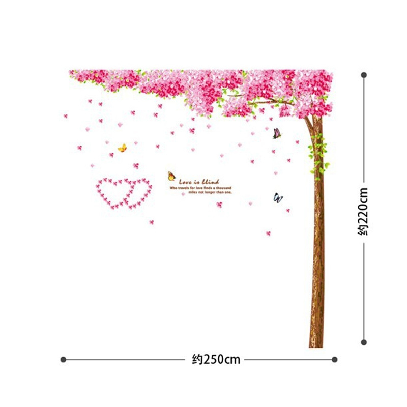 Pink Cherry Blossoms Vinyl Wall Sticker 20