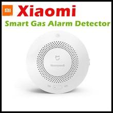 Detector de Alarma de Gas Honeywell Xiaomi Aqara Zigbee Control Remoto CH4 Monitoreo de Techo y Pared Fácil de Instalar Trabajo Mijia APP