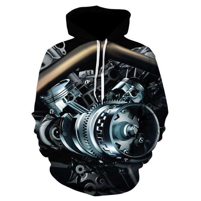 3D Joker Hoodie Sweatshirt