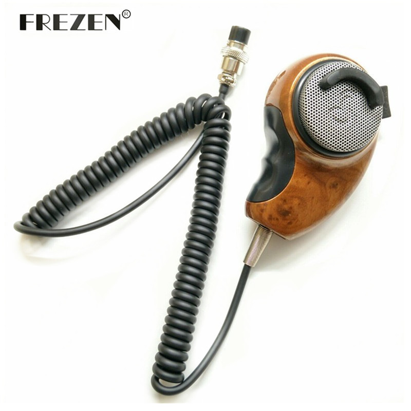 Microphone Noise Canceling Cancellations CB Radio Mic For Cobra HighGear HG-M84 Woodgrain HGM84