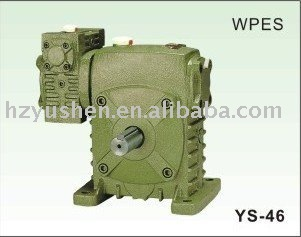 WPES speed reducer,worm gear box