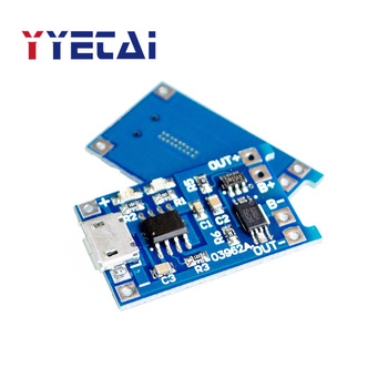 18650 lithium battery protection 3.7v 3.6V 4.2V lithium battery charging board 1A overshoot and overdischarge protection DD image