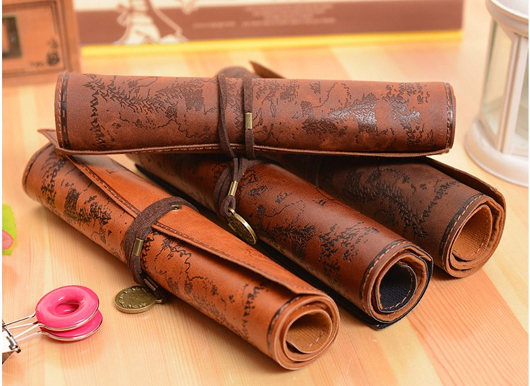 Treasure Map Vintage Pencil Case 6