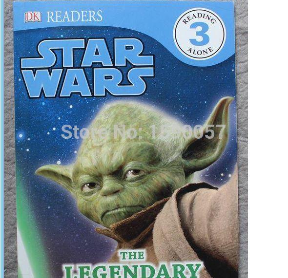 Freies verschiffen 2015 Neue Heiße Saler Star Wars Englisch bücher
