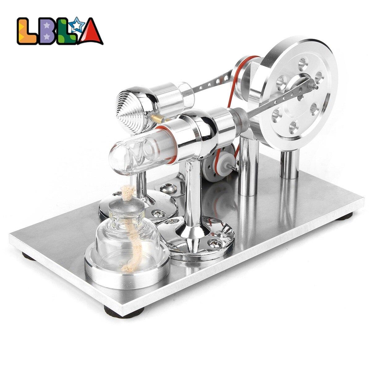 LBLA Air chaud Stirling moteur modèle générateur de puissance moteur éducatif vapeur jouet mise à jour Science éducative jouet cadeau pour les enfants