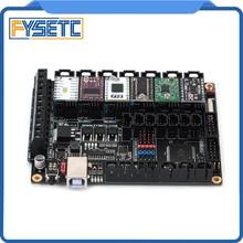 цены FYSETC F6 V1.3 Board Mainboard + 6pcs TMC2100/TMC2208 v1.2/TMC2130 v1.2/DRV8825/S109/A4988/ST820 VS SKR V1.3